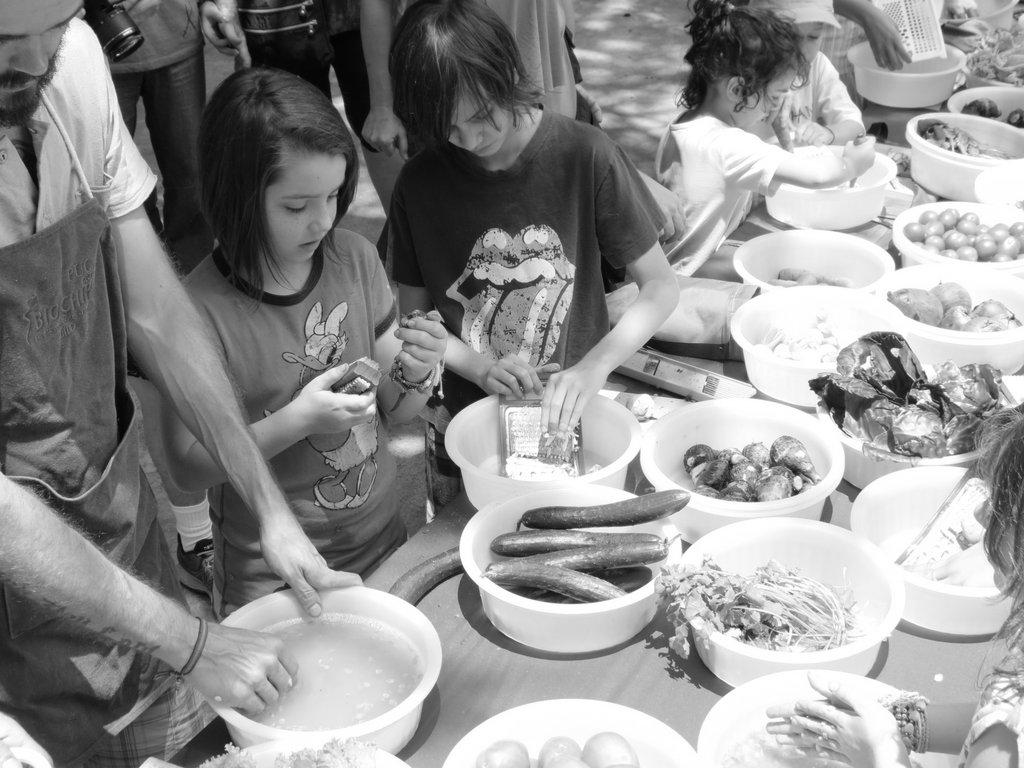 Espaço Kids no Festival da Gastronomia Orgânica