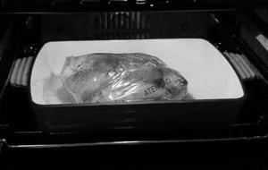 Cozinhando Sem Culpa, frango pronto para assar!