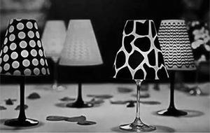 Mini Abatjours e Vasos com Garrafas, ideias simples e lindas