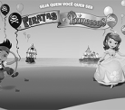 Disney Junior Shopping Vila Olímpia Jake Pirata e Princesinha Sofia