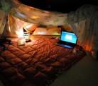 Idéias para acampar em casa com a criançada