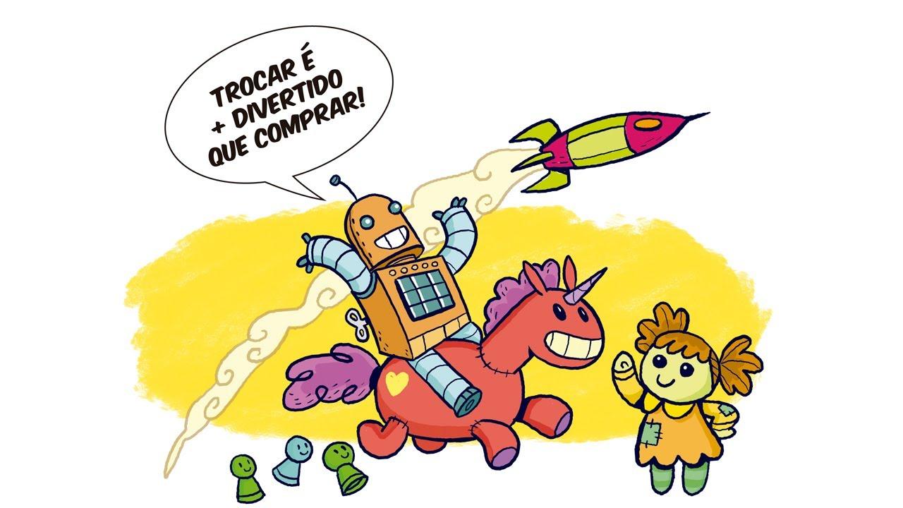 Feira de Trocas de Brinquedos 29/08 em SP